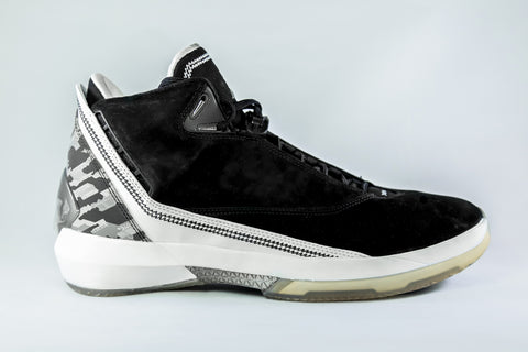 "Air Jordan 22 Retro ""Black/White"""