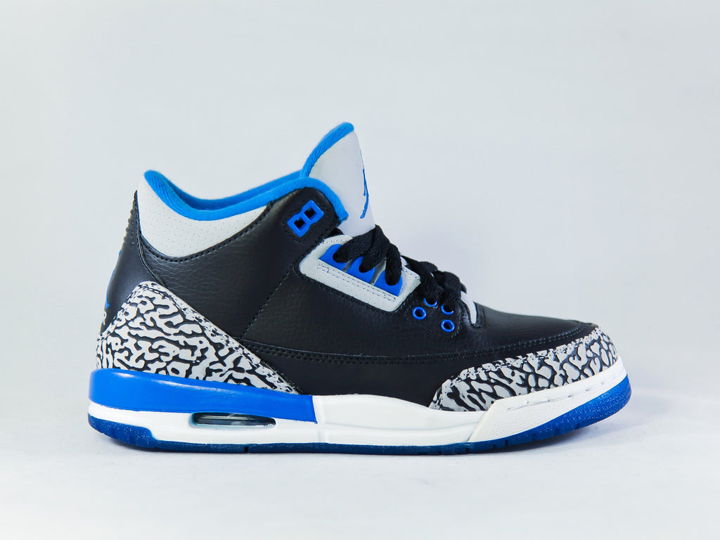 "Air Jordan 3 Retro ""Sport Blue"" (GS)"