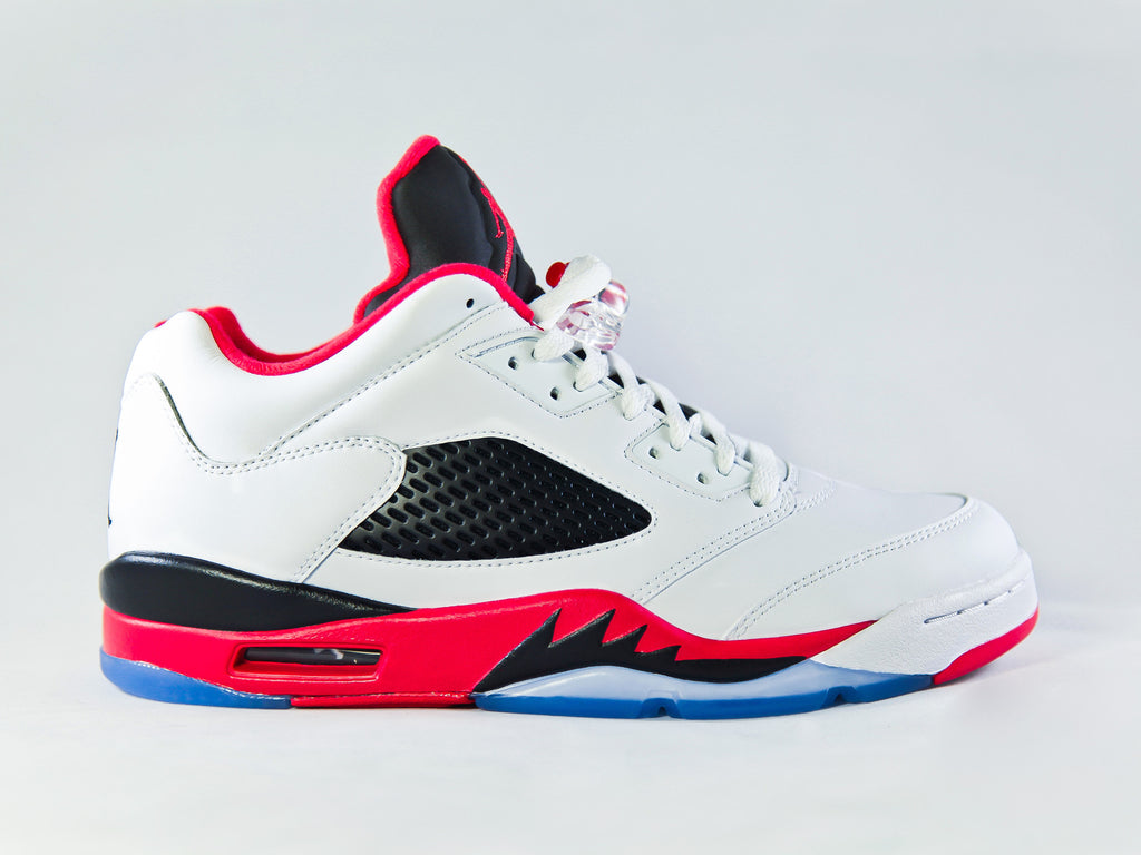 "Air Jordan 5 Retro Low ""Fire Red"""