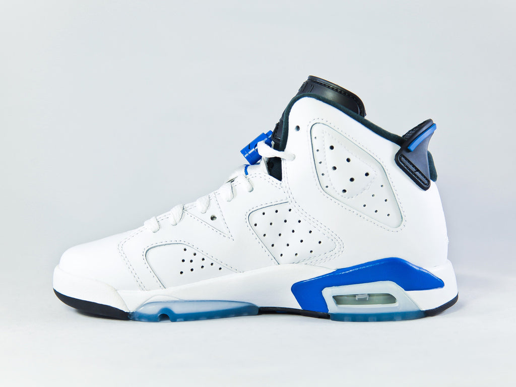 Air Jordan 6 Retro Sport Blue (GS)