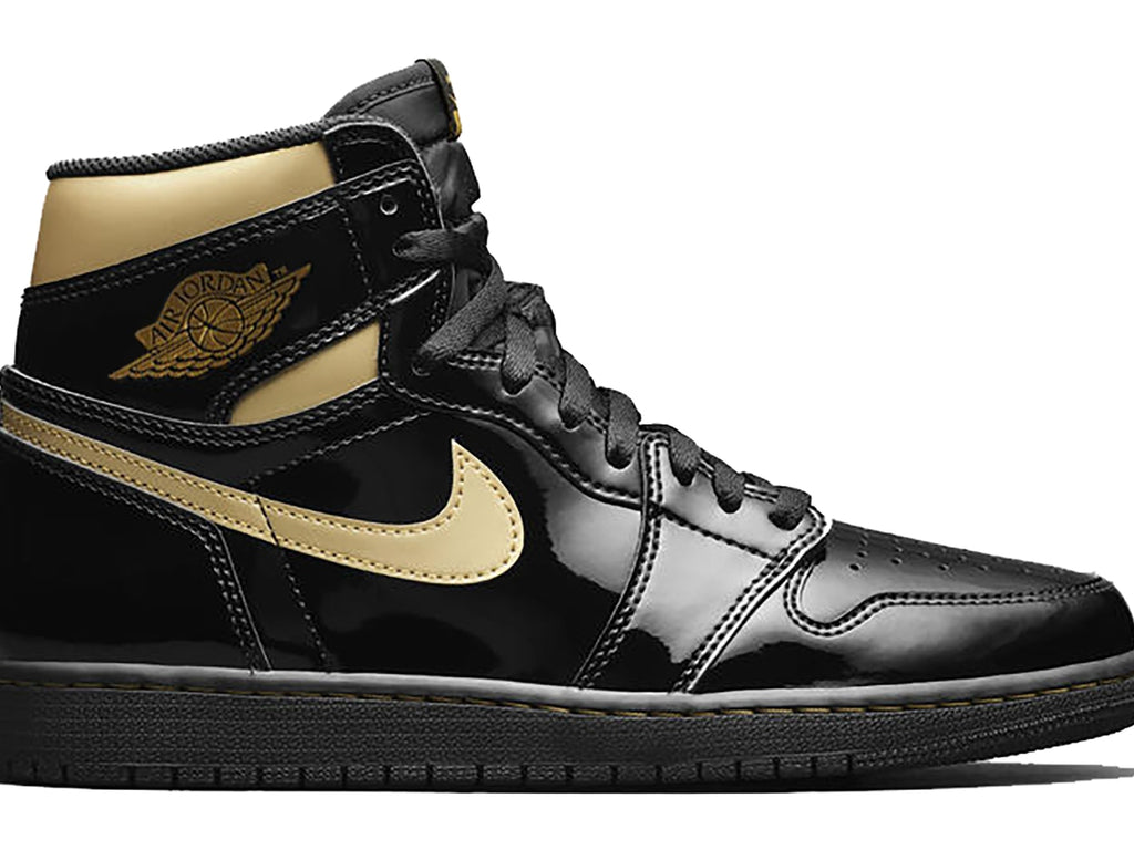 Air Jordan 1 Retro Black Metallic Gold