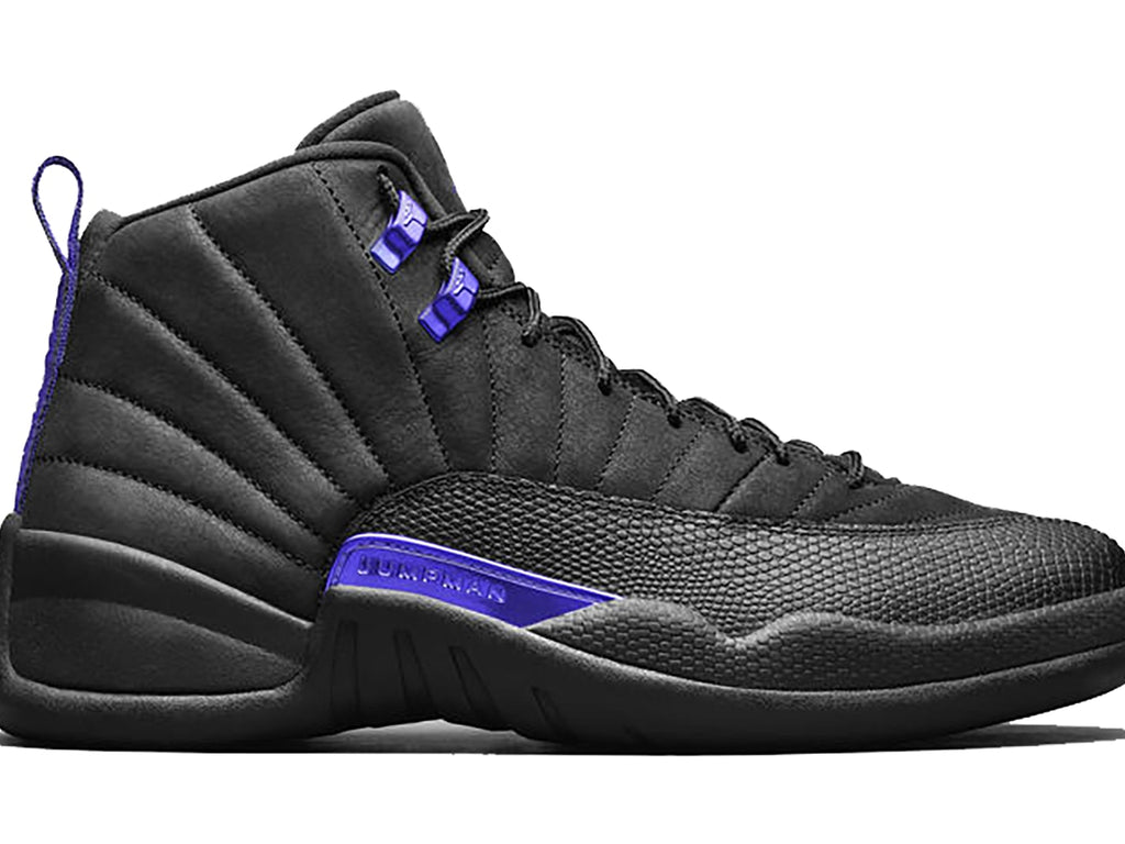 Air Jordan 12 Retro Black Dark Concord
