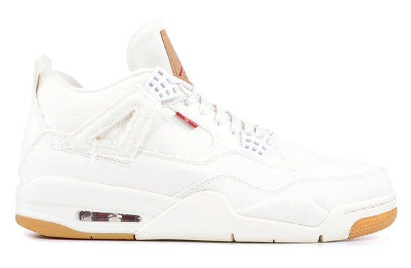 Air Jordan 4 Retro Levi's White
