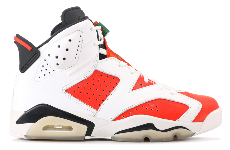 Air Jordan 6 Retro White Gatorade