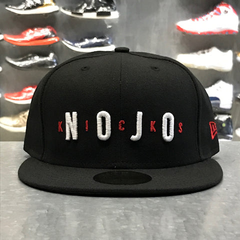 "Air Nojo New Era Fitted Hat ""Black"""