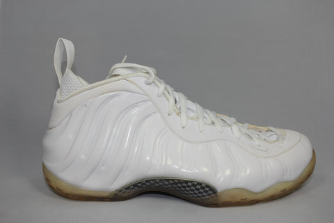 "Nike Air Foamposite One ""White/White"""