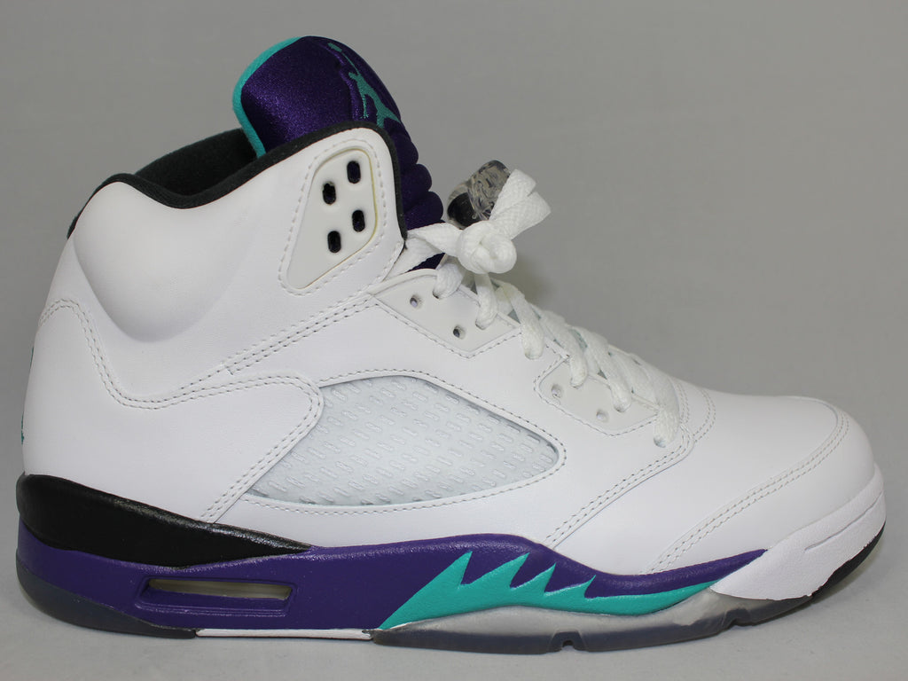 "Air Jordan 5 Retro ""White Grape"""