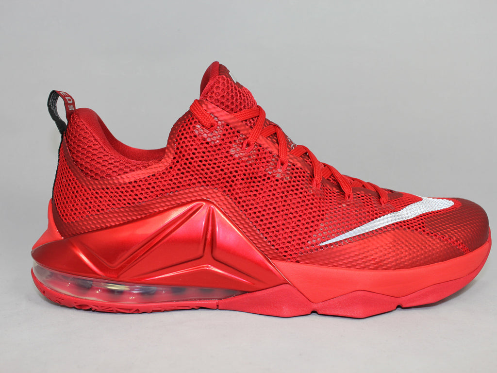 "Nike Lebron 12 Low ""Gym Red"""