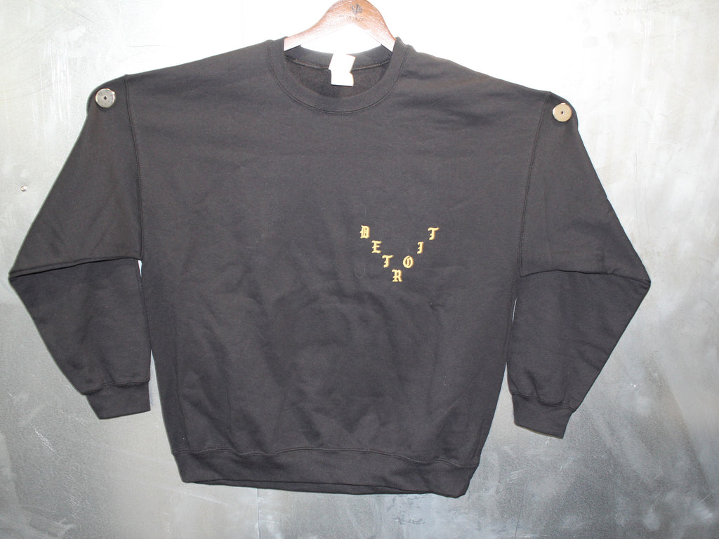 Pablo Perfect Black Crewneck