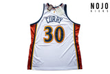 Mitchell & Ness - Golden State Warriors Authentic Jersey - Stephen Curry # 30 (White)