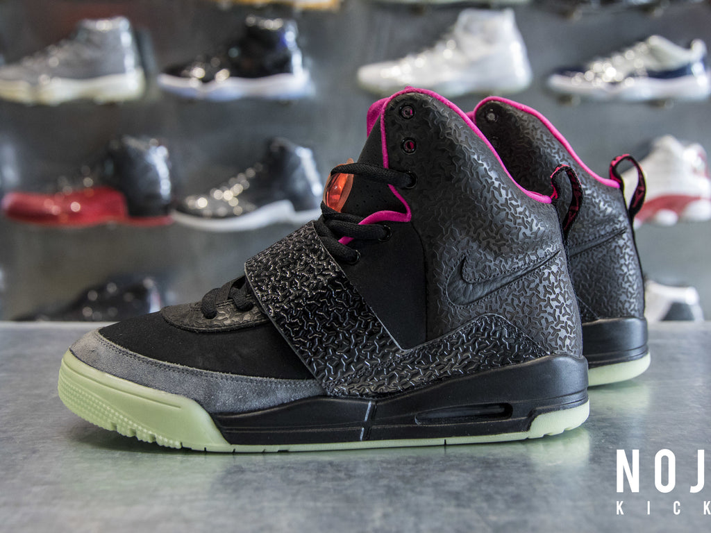 "Nike Air Yeezy 1 ""Black / Pink"""