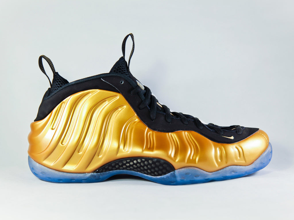 "Nike Foamposite ""Gold"""