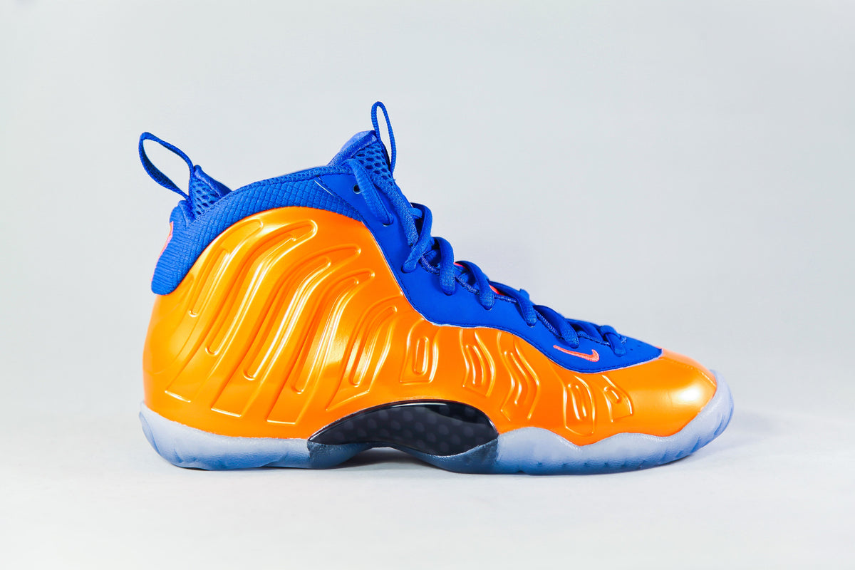 4136963d7d1 Nike Air Foamposite One  Knicks  (GS) – NOJO Kicks Detroit