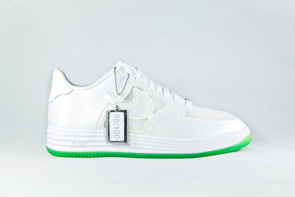 Nike Air Force One Low Lunar (White/Volt)
