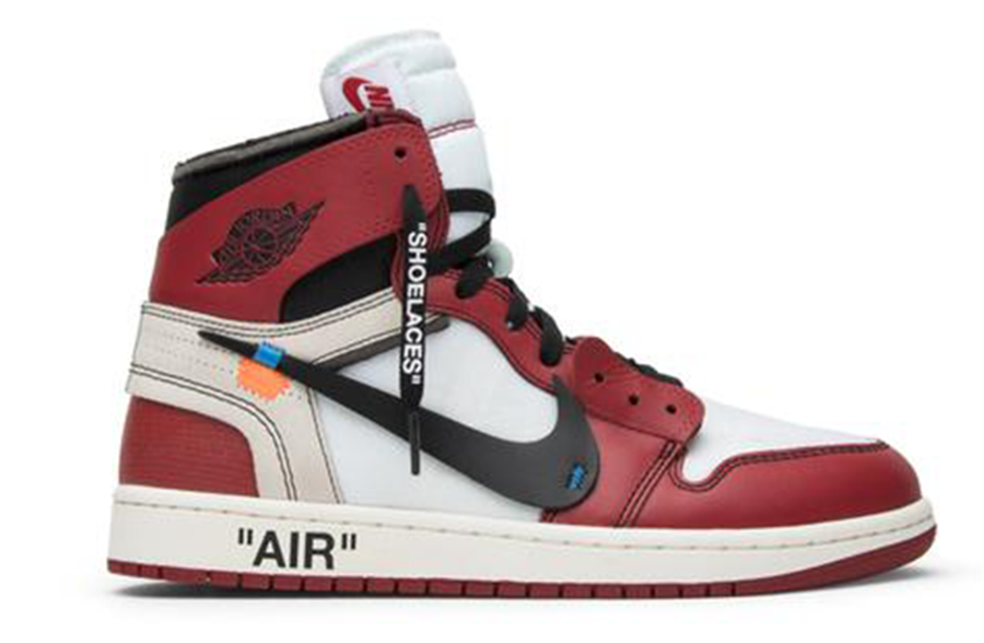 "Air Jordan 1 ""Off-White Virgil"""