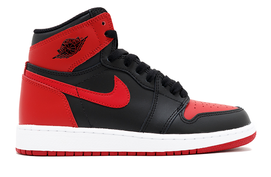 "Air Jordan 1 Retro GS ""Banned"" 2016"