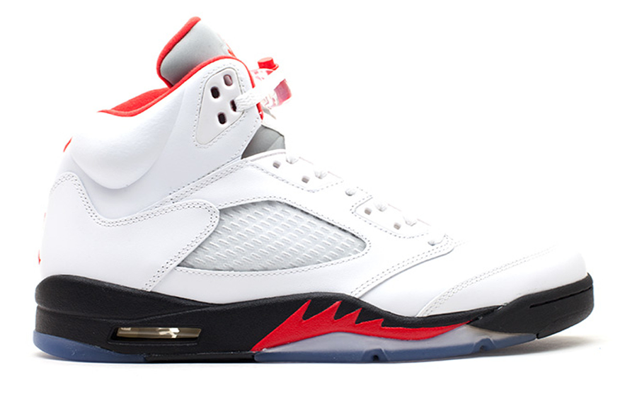 "Air Jordan 5 Retro 2013 ""Fire Red"""