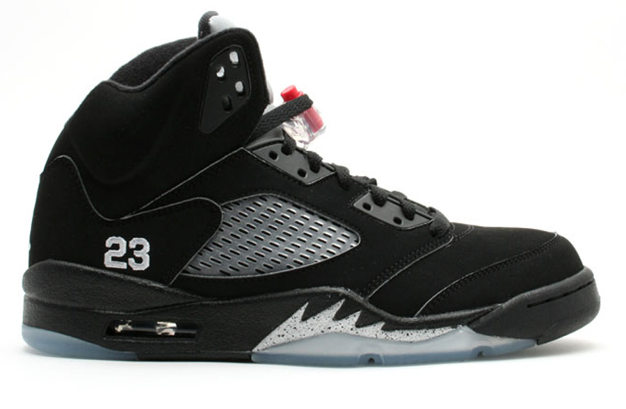 "Air Jordan 5 Retro OG ""Black/Metallic"" 2016"