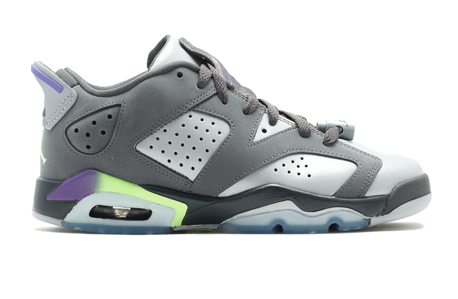 Air Jordan 6 Retro Low Silver/Purple