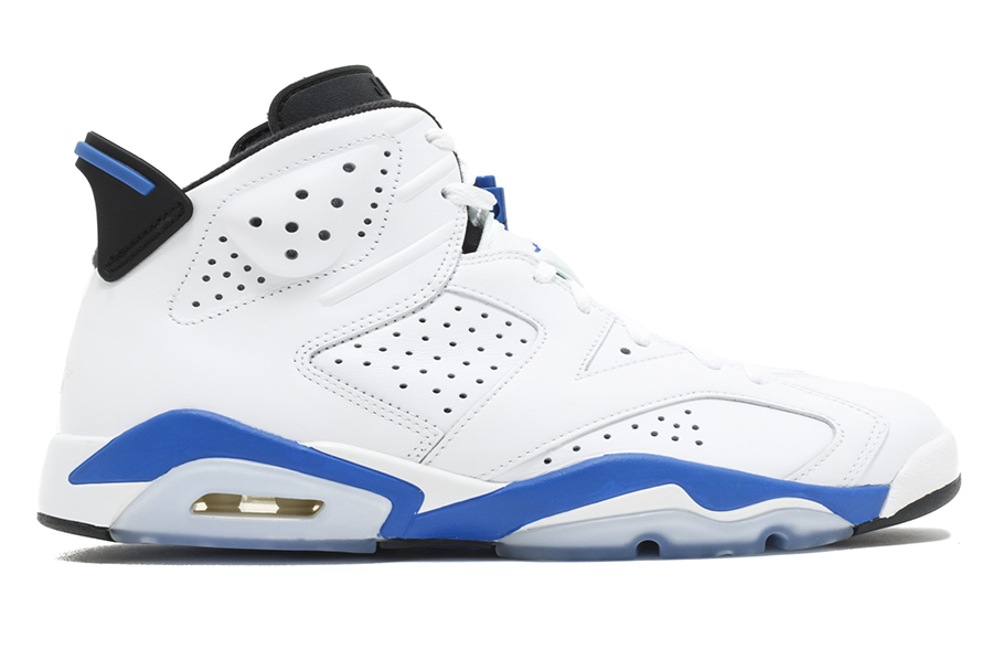 Air Jordan 6 Retro Sport Blue (GS) – NOJO Kicks Detroit 729af500a98d