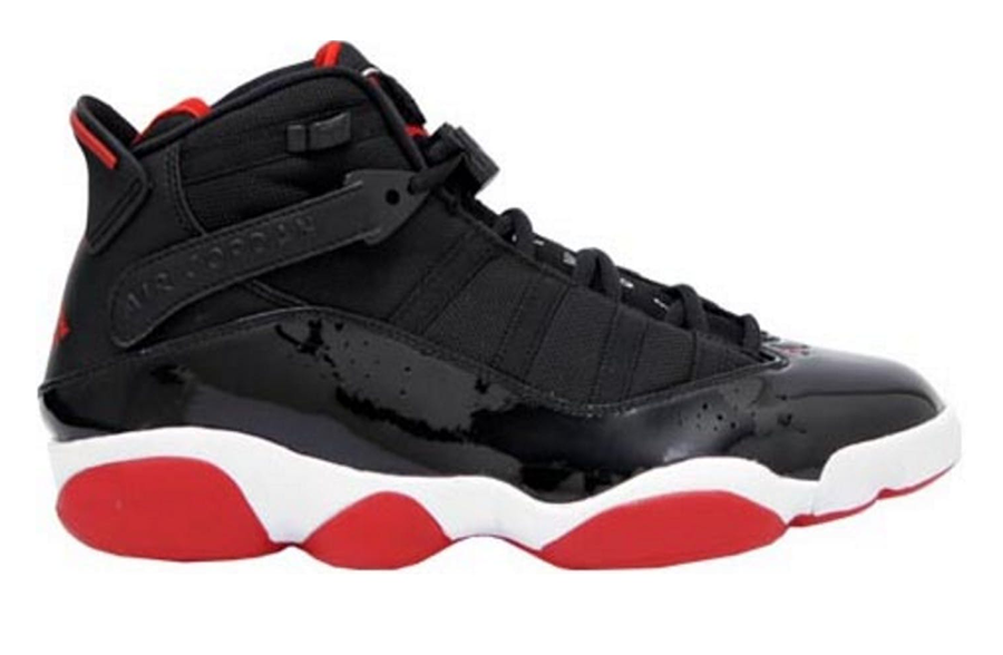 Air Jordan 6 Rings Black/Red