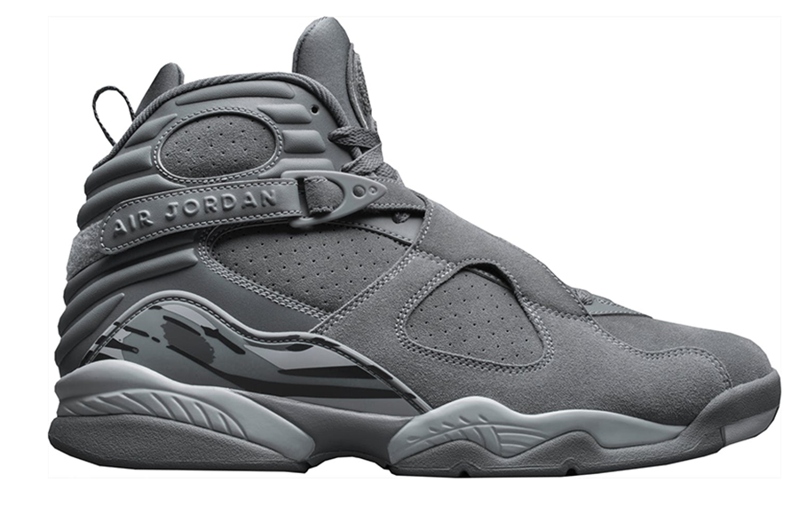 "Air Jordan 8 Retro ""Cool Grey"""
