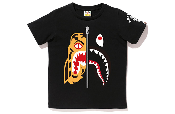Bape- Shark X Tiger Tee Shirt