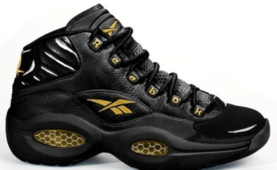 Reebok Questions Black/Gold