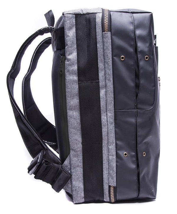 Shrine Weekender Backpack (Black/Grey)