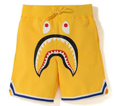 A bathing ape shark Basketball Shorts