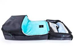 Shrine Daypack (Black/Teal Diamond Press)