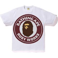 A bathing Ape Pigment Colorful Big Busy Works Tee