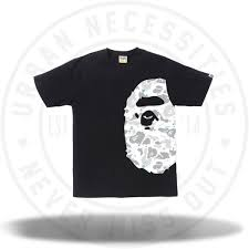 A Bathing Ape Space camo side ape tee