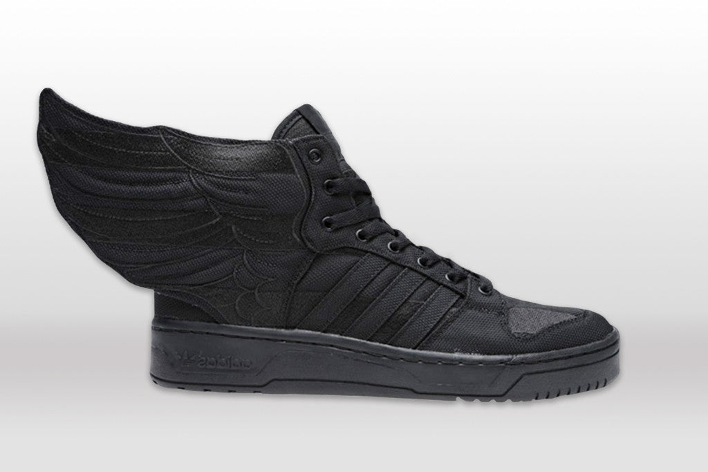 "A$AP Rocky x Jeremy Scott x adidas Originals Wings 2.0 ""Black Flag"""