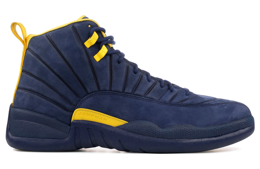 Air Jordan 12 PSNY Michigan PE