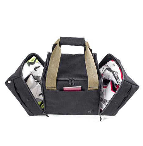 Shrine Sneaker Duffel (Black/Olive)