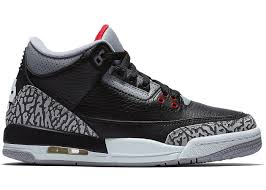 Air Jordan Retro Black Cement 3