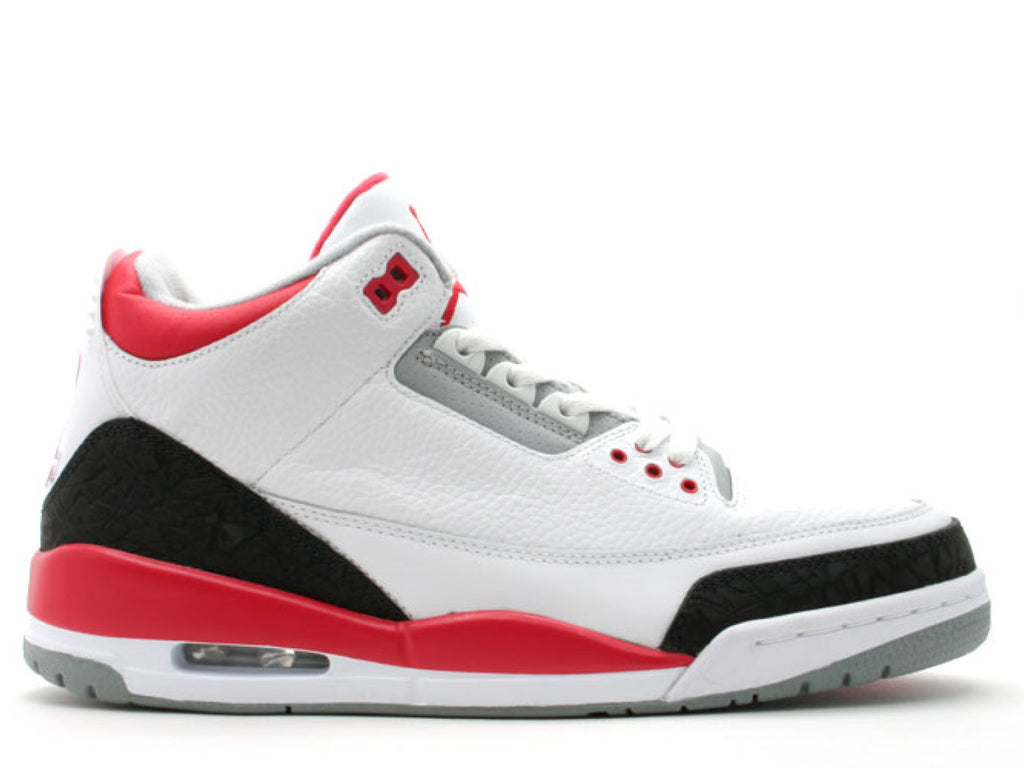 "Air Jordan 3 Retro ""Fire Red"" (2013)"