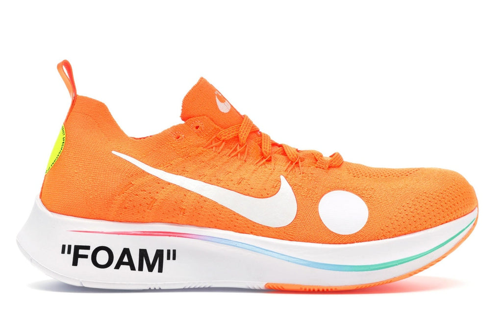 Nike off white mercurial total orange