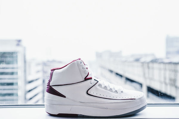Air Jordan 2 Retro White-Red