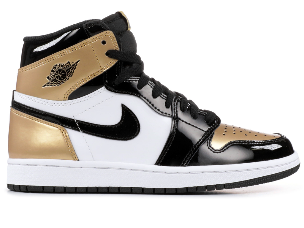 "Air Jordan 1 Retro ""Gold Toe"""