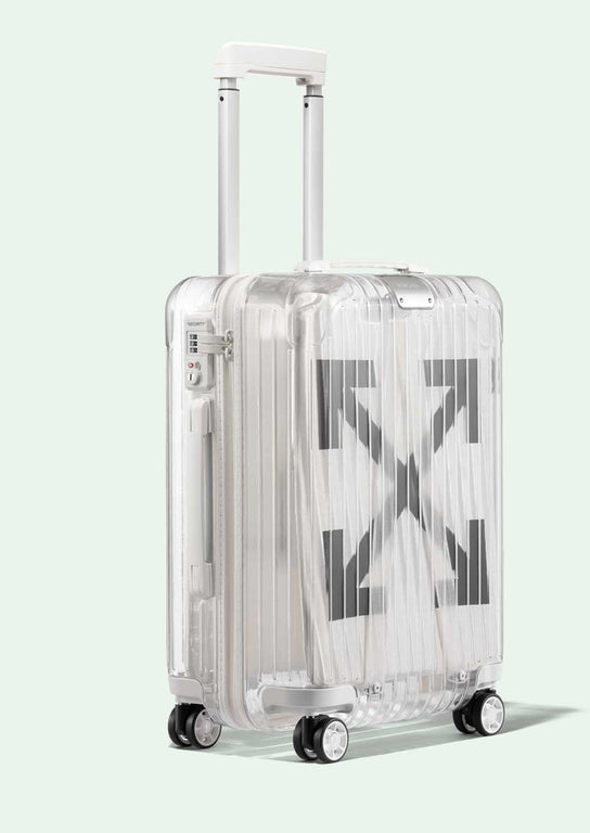 Off White Rimowa  TRANSPARENT LUGGAGE