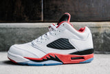 Air Jordan 5 Retro Low Fire Red - NOJO KICKS