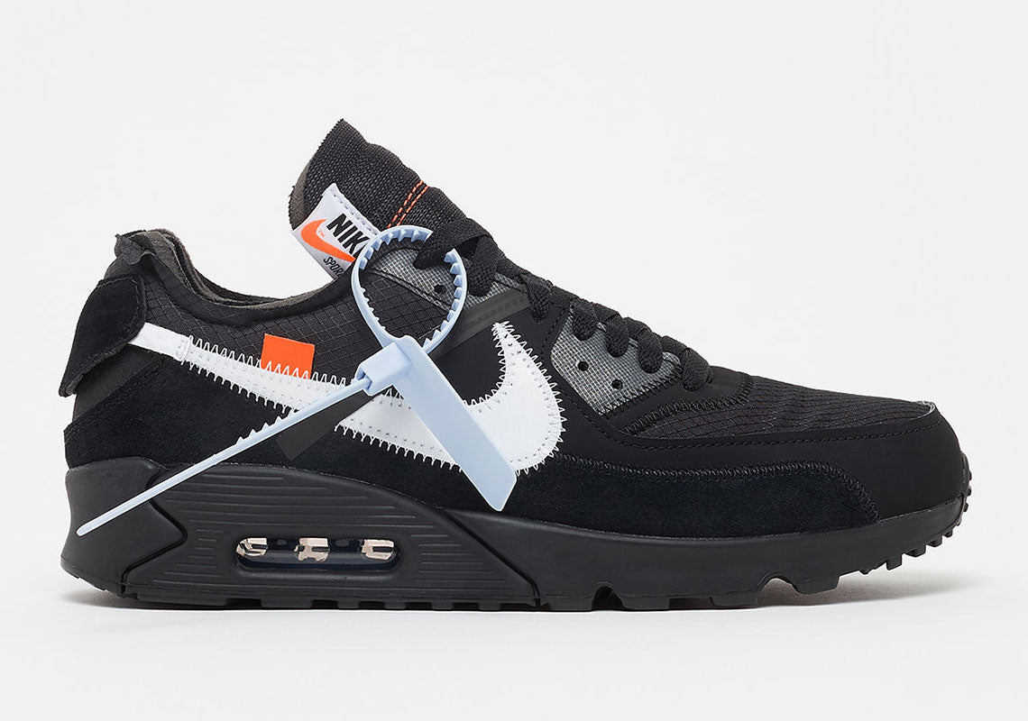 online store 18e54 a2f2a New Air Max 90 Off-White Black