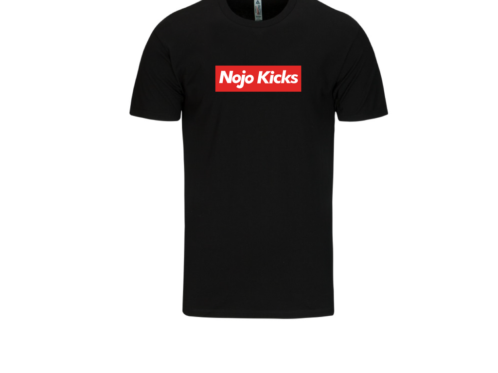"Nojo Kicks Boxed Logo T-Shirt ""Black"""