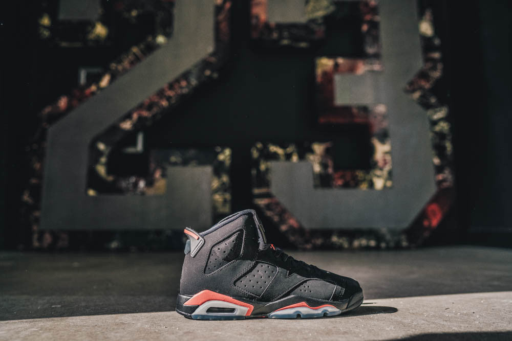 Air Jordan 6 Retro Black/Infrared (GS)