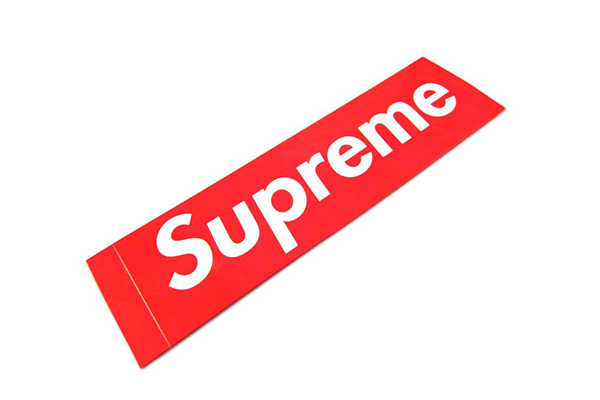 Supreme Red Logo Sticker