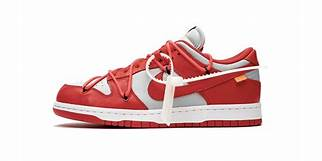 Nike sb off white red