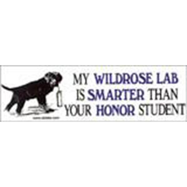 Wildrose Bumper Sticker