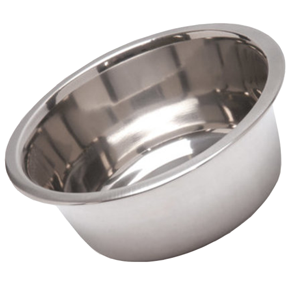 2 qt Stainless Steel Feed Bowl